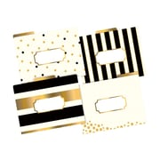 Barker Creek Fashion File Folders, 1/3-Cut Tab, Letter Size, Multicolor, 12/Pack (LL-1337)