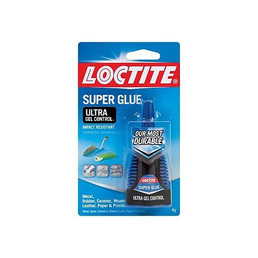 Loctite ULTRA Gel Control Permanent Super Glue, 0.14 Oz. (1363589)