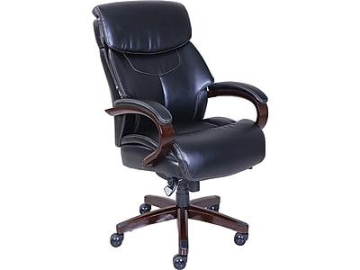 La-Z-Boy Bradley Faux Leather Executive Chair, Black (46089-CC)