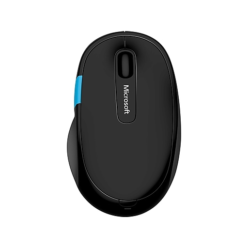 012da09cc32 Microsoft Sculpt Comfort Bluetooth Mouse, BlueTrack Bluetooth Wireless  Mouse, Black (H3S-00003) | Staples