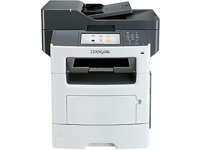 Lexmark MX617de 35SC705 USB & Network Ready Black & White Laser All-In-One Printer