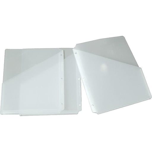 Shop Staples For Smead® Poly Translucent Slash File Jacket