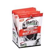 Oberto Beef Jerky, Teriyaki, 1.5 Oz., 8/Box (SMO1943)