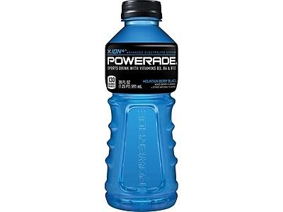 Powerade Mountain Berry Blast Liquid Sports Drink, 20 Fl. Oz., 24/Carton (00049000007909)