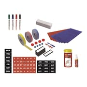 MasterVision Professional Magnetic Accessory Kit, Assorted Colors (KT1317)