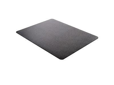 "Deflect-O EconoMat Standard 46"" x 60"" Rectangular Chair Mat for Hard Floor, Vinyl (CM21442FBLKCOM)"