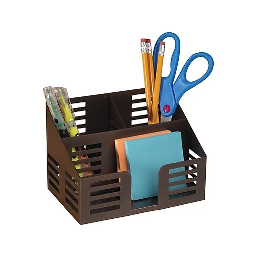 Incredible Staples Punched Metal Desktop Organizer 21512 Home Interior And Landscaping Ferensignezvosmurscom
