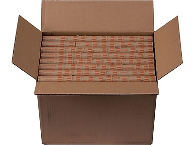 Coin-Tainer Coin Wrappers, Brown 1000/Box (23025/2160640)