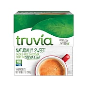 Truvía Naturally Sweet Calorie-Free Sweetener, 140/Box (8845)