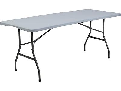 Staples Folding Table, Light Duty, 72