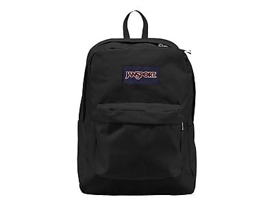 JanSport Superbreak Backpack, Solid, Black (JS00T501008)