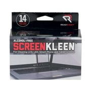 "Read Right ScreenKleen Alcohol-Free Wipes, 5""x 5"", Unscented, 14/Box (RR1291)"
