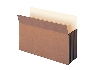 Smead Redrope File Pockets, Straight-Cut Tab, 5-1/4