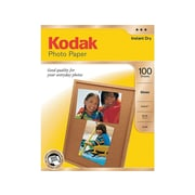"""Kodak Glossy Photo Paper, 8.5"""" x 11"""", 100/Pack (8209017)"""