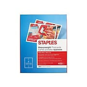 "Staples Matte Postcards, 5.5"" x 4.25"", White, 400/Box (12498)"