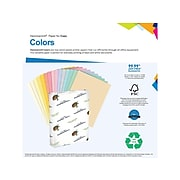 """Hammermill Colors Multipurpose Paper, 20 Lbs., 11"""" x 17"""", Goldenrod, 500/Ream (102160)"""