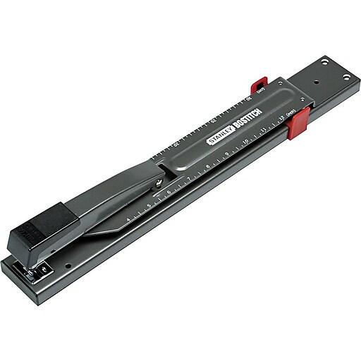 Bostitch Long Reach Stapler, Full-Strip Capacity, Black (B440LR)
