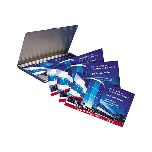 Avery Laser Business Cards, 3 5