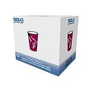 Solo Bistro® Hot Cups, 12 Oz., Multicolor, 300/Carton (OF12BI-0041)