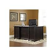 "Sauder Edge Water Collection 65"" Desk, Black (409042)"