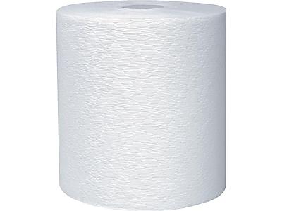 Scott Essential Plus+ Hardwound Paper Towels, 1-Ply, 6/Carton (11090)