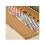 Smead File Folders, Reinforced Straight-Cut Tab, Letter Size, Kraft, 100/Box (10710)