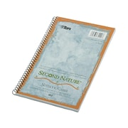 "TOPS Second Nature 1-Subject Notebook, 6"" x 9.5"", College Ruled, 80 Sheets, Light Blue (TOP 74109)"