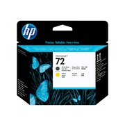 HP 72 DesignJet C9384A Printhead, Matte Black/Yellow