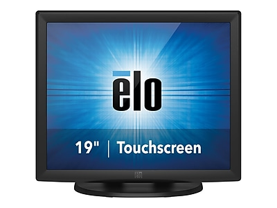 "ELO IntelliTouch 1915L 19"" LED Monitor, Dark Gray"