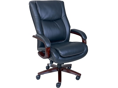Ordinaire La Z Boy Winston Leather Executive Chair, Black (47011)