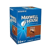 Maxwell House Blend Coffee, Keurig K-Cup Pods, Medium Roast, 24/Box (5303)