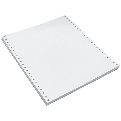 "Staples 9.5"" x 11"" Carbonless Paper, 15 lbs., 100 Brightness, 1650/Carton (177071)"