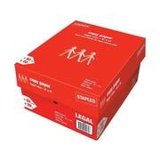"Staples 8.5"" x 14"" Copy Paper, 20 lbs., 92 Brightness, 500/Ream, 10 Reams/Carton (221193)"