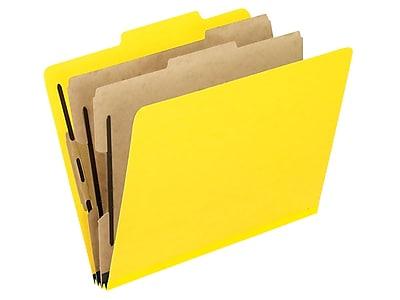 2257BL Blue Legal Size 2//5 Cut 2 Dividers 10 Per Box Pendaflex Top-Tab Pressboard Classification Folders