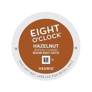 Eight O'Clock Hazelnut Coffee, Keurig® K-Cup® Pods, Medium Roast, 24/Box (6406)