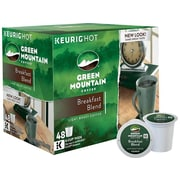 Green Mountain Breakfast Blend Coffee, Keurig® K-Cup® Pods, Light Roast, 48/Box (81909/15170)