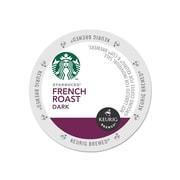 Starbucks French Roast Coffee, Keurig® K-Cup® Pods, Dark Roast, 96/Carton (11067985)