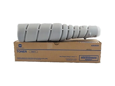 Konica Minolta TN217 Black Toner Cartridge, High Yield (A202031)
