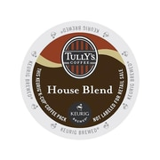 Tully's House Blend Coffee, Keurig® K-Cup® Pods, Medium Roast, 24/Box (192919)