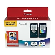 Canon PG-240CL-/CL-241XL Black/Tri-Color High Yield Ink Cartridge, 2/Pack (5206B005)