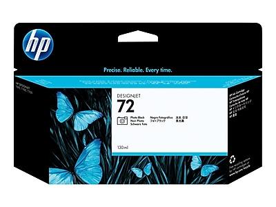HP 72 Black Ink Cartridge, Standard (C9370A)