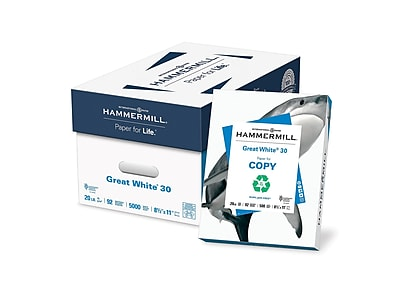 Hammermill Great White 30% Recycled 8.5
