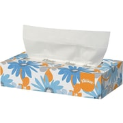 Kleenex Standard Facial Tissue, 2-Ply, 100 Sheets/Box (21400)
