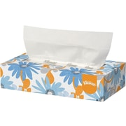 Kleenex Standard Facial Tissue, 2-Ply, 125 Sheets/Box, 12 Boxes/Pack (03076)