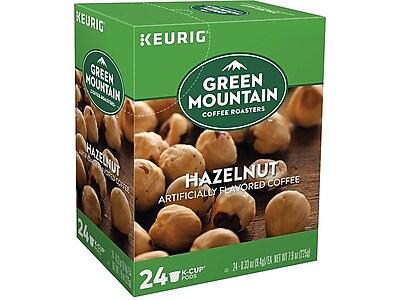 Green Mountain Coffee Roasters Hazelnut Coffee, Keurig® K-Cup® Pods, Light Roast, 24/Box (6792)