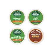 Green Mountain Coffee Roasters Variety Pack Decaf Coffee, Keurig® K-Cup® Pods, Variety Pack Roast, 22/Box (6503)