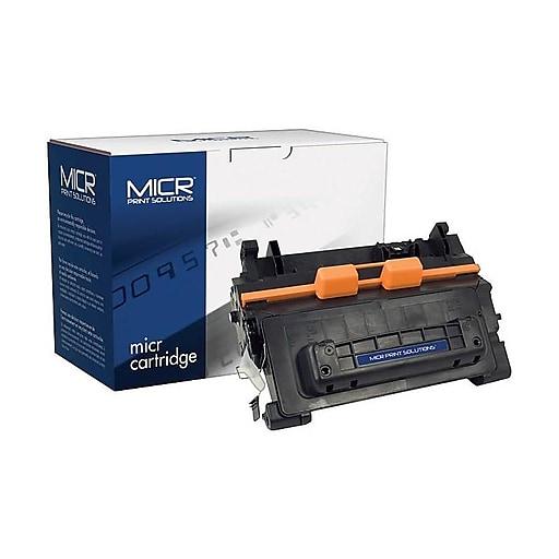 MICR Print Solutions HP 64A Black MICR Cartridge, Standard (MCR64AM)