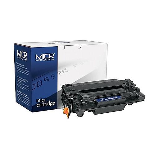 MICR Print Solutions HP 55XM Black MICR Cartridge, High Yield (MCR55XM)
