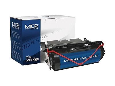 MICR Print Solutions Lexmark T640 Black MICR Cartridge, High Yield (MCR640M)