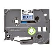 """Brother TZE541 Label Maker Tape, 0.7""""W, Black On Blue"""